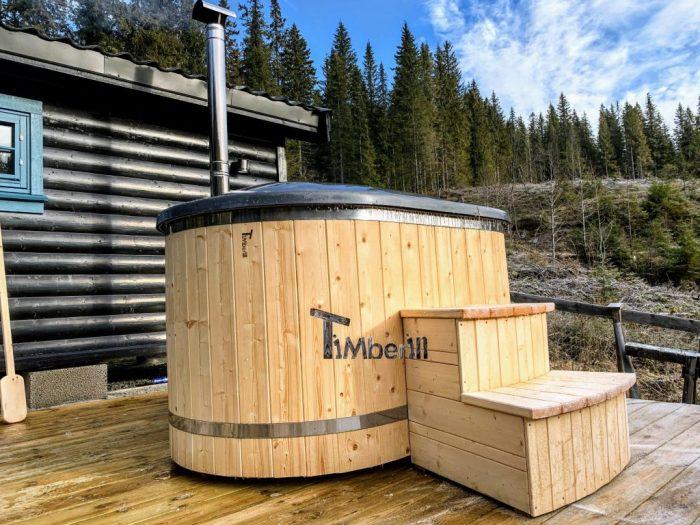finnische badetonne selber bauen
