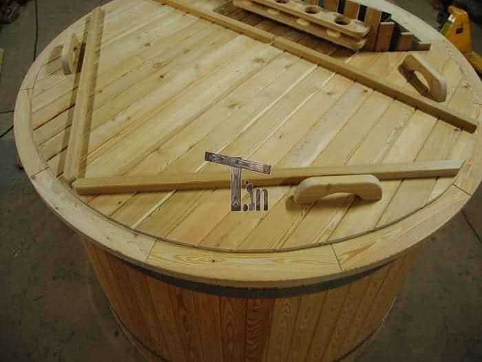 Montage der Holzdecke 3
