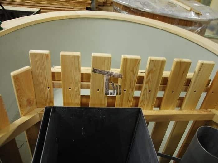 Montage der Holzzaun 1