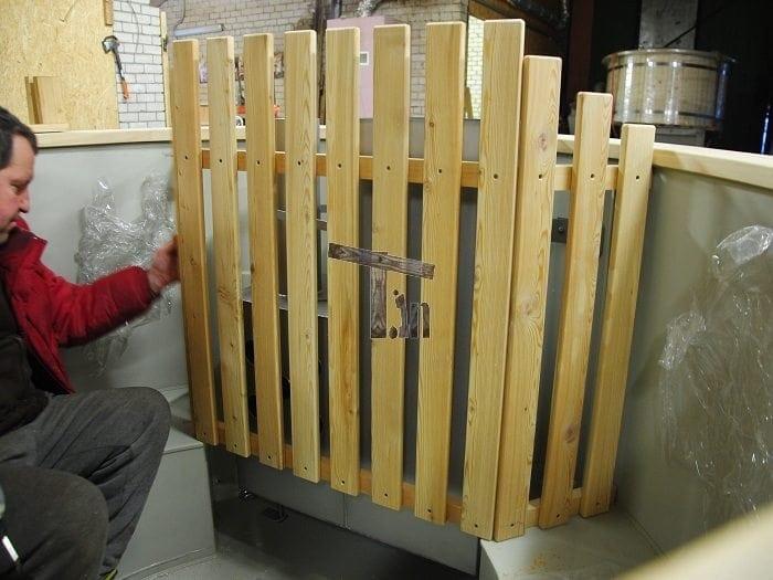 Montage der Holzzaun 2