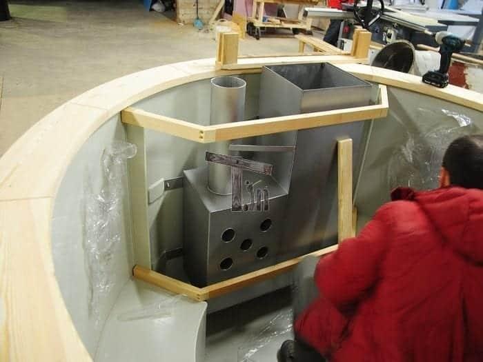 Montage der Holzzaun 3