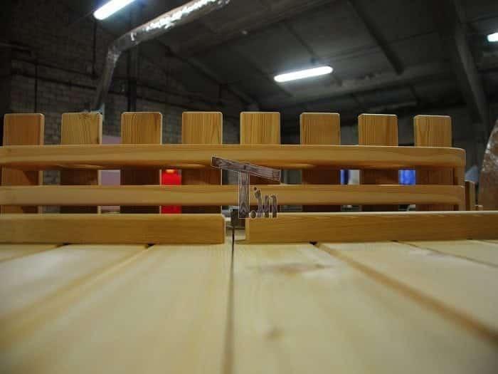 Montage der Holzzaun 4
