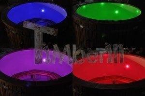 LED Beleuchtung Badetonne