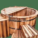 Badezuber zedernholz