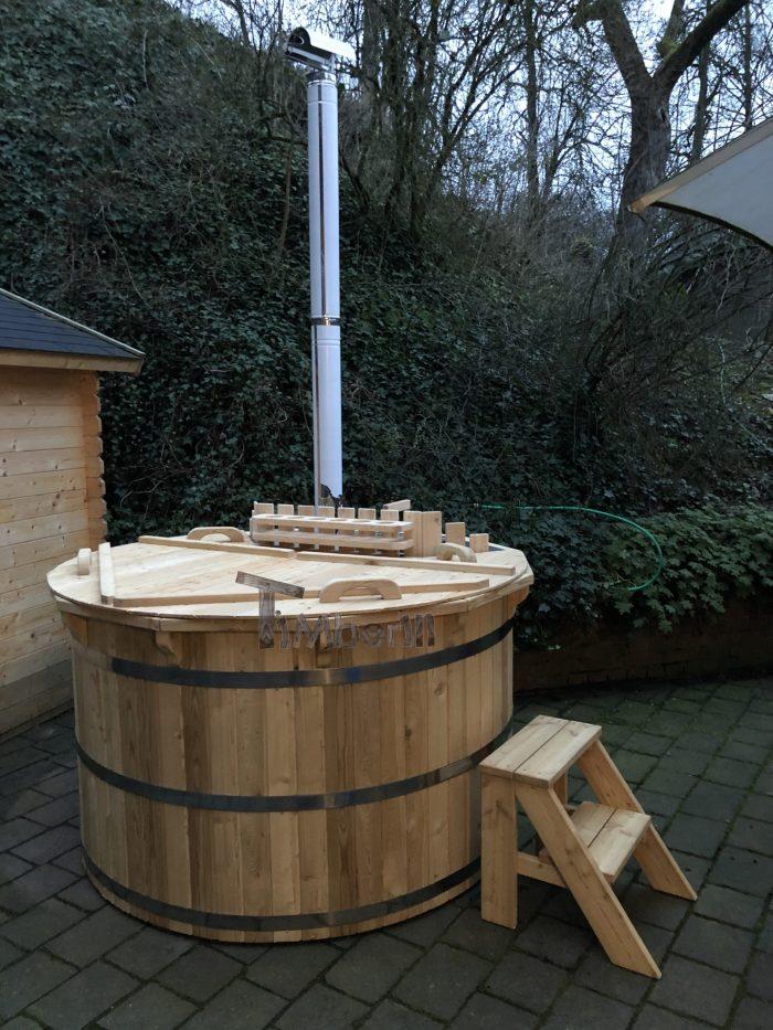 Holzbadezuber Deluxe Sibirische Fichte, Lärche, Bernd, Steinhagen, Deutschland