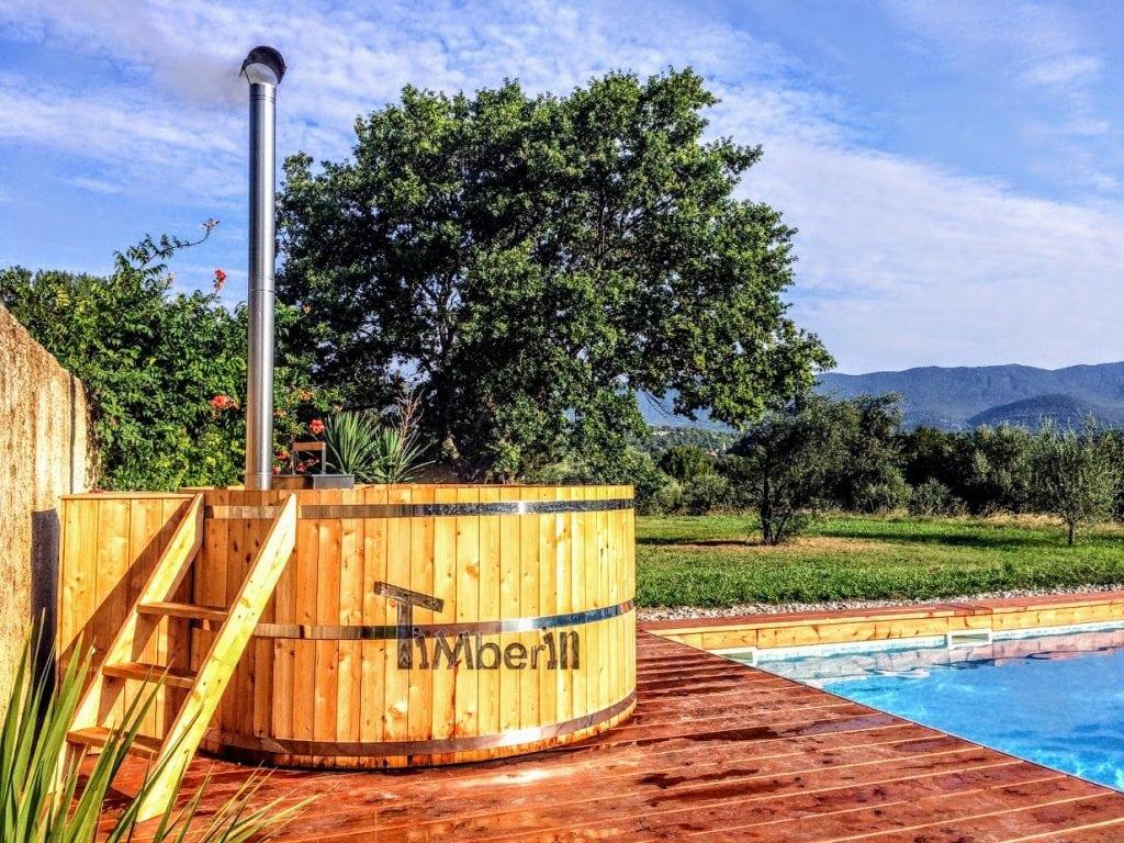 Badezuber Hot Tub aus Holz