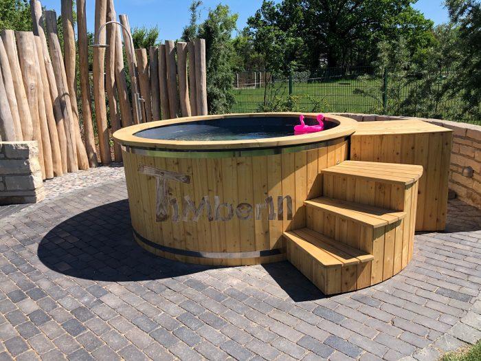 Badefass Hot Tub Elektrisch Beheizt, Gerald, Sangerhausen OT Oberröblingen, Deutschland (3)