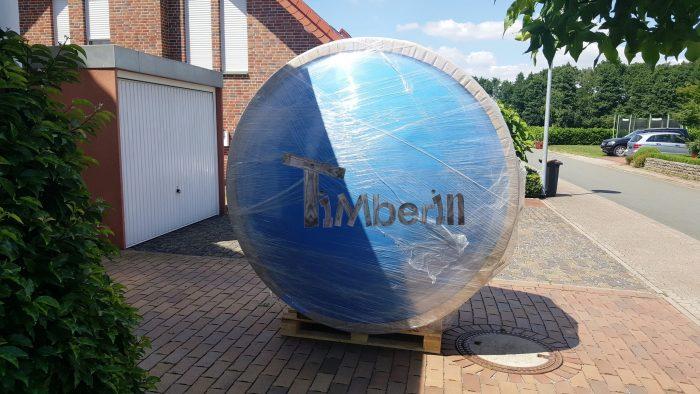 Badefass Gfk Mit Whirlpool Wellness Royal, Ute Und Michael, Bad Oeynhausen, Deutschland (1)