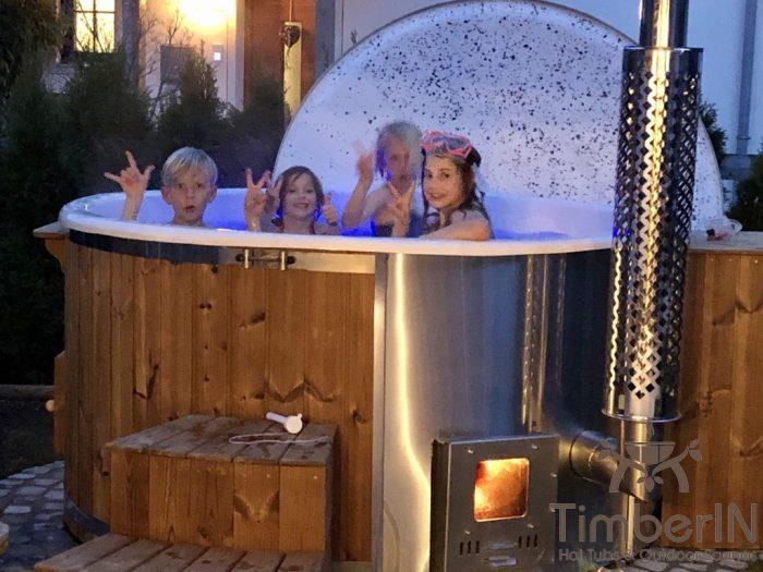 Badefass Gfk Mit Whirlpool Wellness Royal, Lydia, Siegsdorf, Deutschland (1)