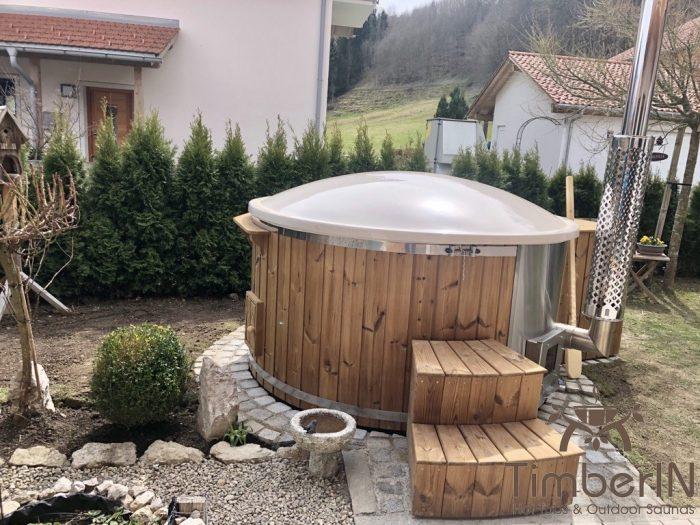 Badefass Gfk Mit Whirlpool Wellness Royal, Lydia, Siegsdorf, Deutschland (3)