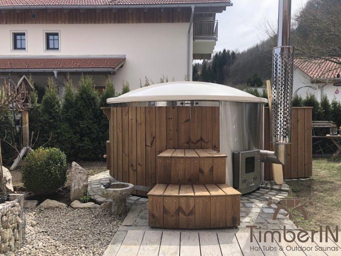 Badefass Gfk Mit Whirlpool Wellness Royal, Lydia, Siegsdorf, Deutschland (5)