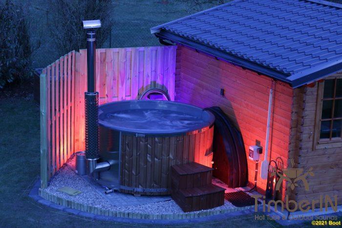 Badezuber Badefass Hot Tube Mit Whirlpool Holzofen TimberIN Rojal, Thorsten, Suderburg, Deutschland (2)