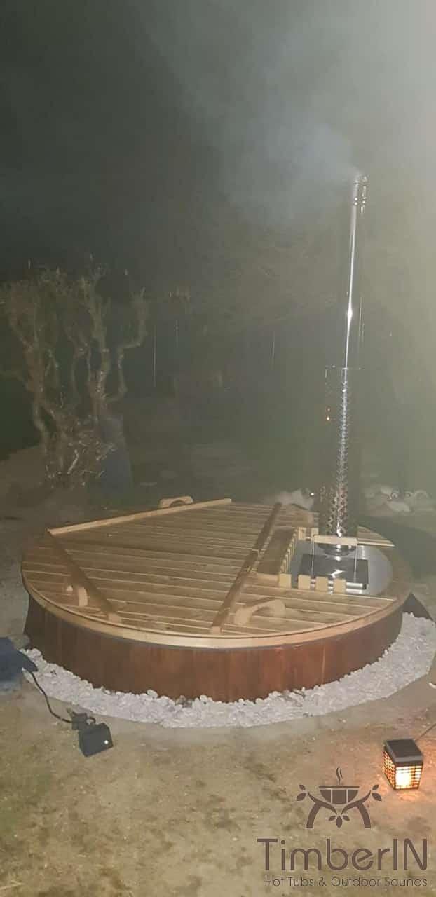Badezuber Badefass Jacuzzi Hot Tube Einbaumodell Einsatz Eingraben Eingelassen, Doreen, Bobingen, Deutschland (2)