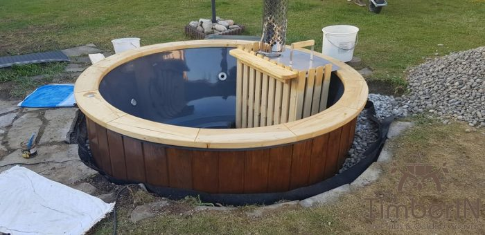Badezuber Badefass Jacuzzi Hot Tube Einbaumodell Einsatz Eingraben Eingelassen, Doreen, Bobingen, Deutschland (5)