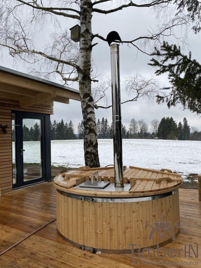 Holz Whirlpool Für Draußen Holzheizung, Christian, Stützengrün, Deutschland